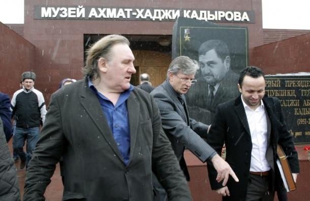 Жерар Депардье сыграет Ахмата Кадырова в кино