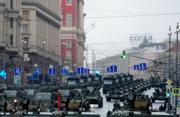 В Москве в 10 утра начнется генеральная репетиция парада Победы