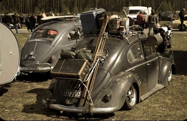 Жуки в городе. VW Festival приглашает на шоу старинных моделей Фольксваген