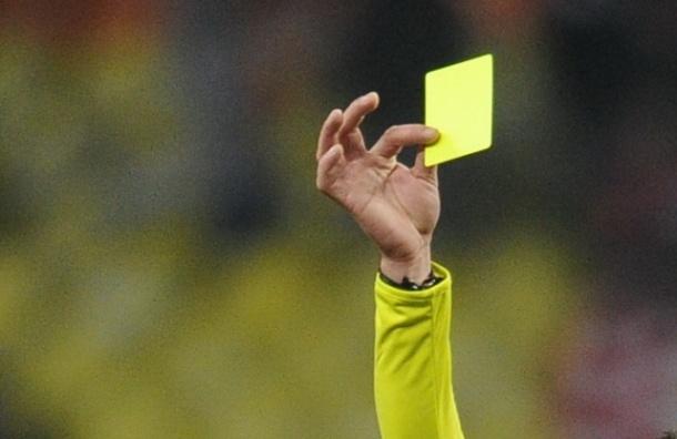 Судья умер после удара игрока, получившего желтую карточку