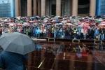 Хор из 4000 человек спел у Исаакиевского собора в День города 26 мая 2013