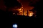 На месте крушения поезда в Ростовской области произошла утечка ядовитого вещества