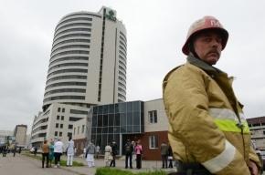 Появилось фото трясущейся башни в Петербурге