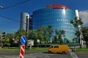 В Петербурге горит крыша ТРК «Континент» у метро «Звездная»