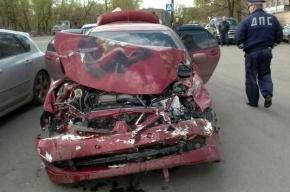Мертвый водитель устроил ДТП на проспекте Тореза