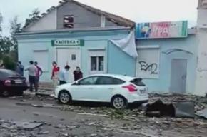 Смерч обрушился на город Ефремов в Тульской области