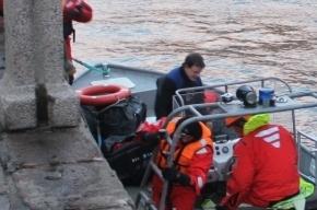 На набережной Мойки в воду упал автомобиль, водитель выбрался сам