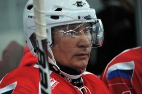 Путина расстроил результат хоккейного матча Россия – США