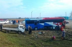 Двадцать человек пострадали в крупном ДТП в Иркутской области