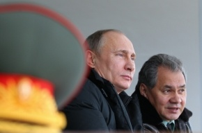Путин оценил на «тройку» учения войск космической обороны