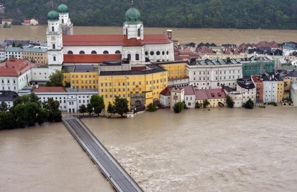 Большая вода уходит из Чехии и направляется в Германию