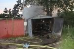 Пожар на Краснопутиловской : Фоторепортаж