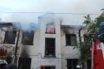 Пожар на Петровском проспекте : Фоторепортаж