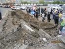 Обрушение стены в Иркутске: Фоторепортаж