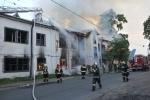 Фоторепортаж: «Пожар на Петровском проспекте »