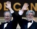Фоторепортаж: «Стивен Спилберг и Джордж Лукас»
