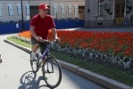 Депутаты велопробег: Фоторепортаж