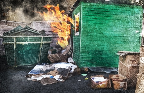 Петербург vs раздельный сбор мусора: люди не сдают вторсырье, контейнеры - горят