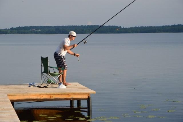 рыбалка на оз. врево