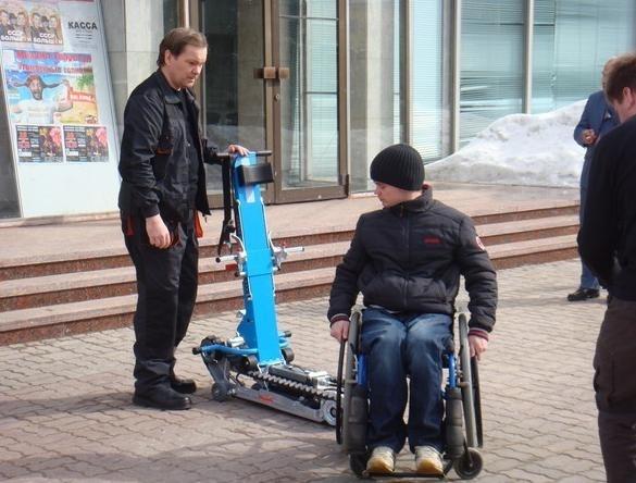 Подъемники для инвалидов: Фото