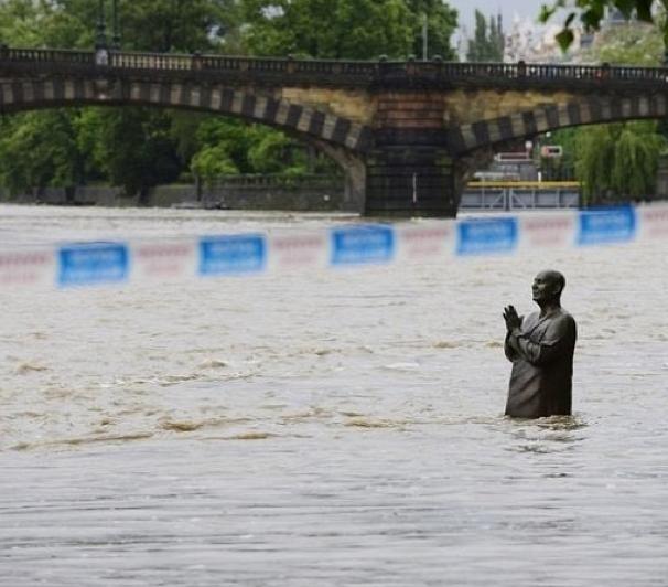 Наводнение в Праге в июне 2013 года - фото очевидца: Фото
