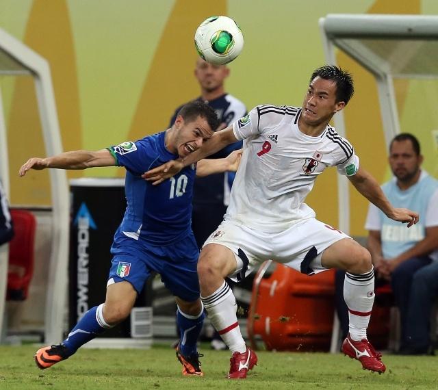 Матч Италия - Япония на Кубке Конфедераций 2013 года: Фото