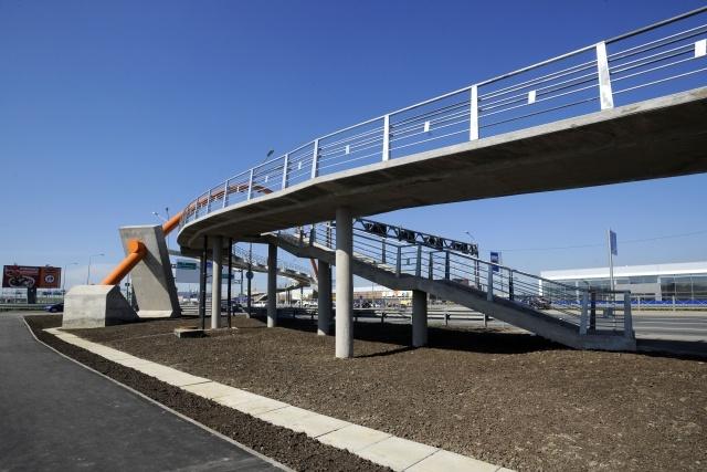Вантовый мост на Таллинском шоссе: Фото