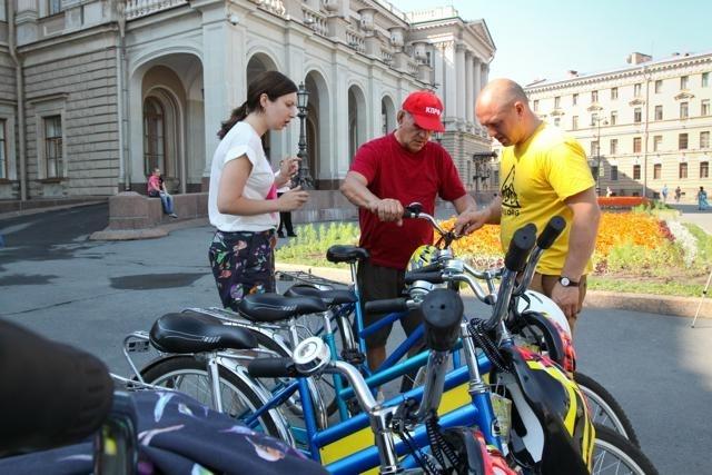 Депутаты велопробег: Фото