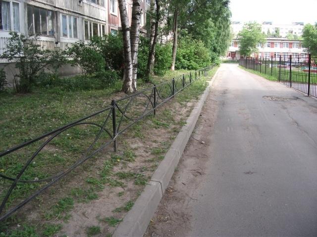 Газонные ограждения в Пороховых: Фото