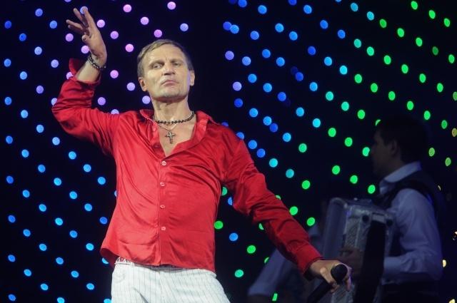 Лидер группы «Вопли Видоплясова» Олег Скрипка: Фото