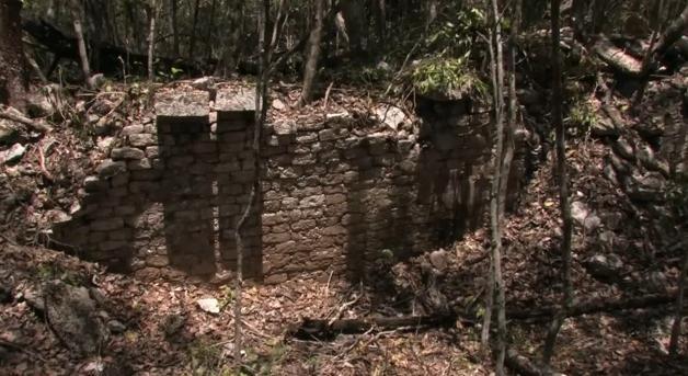 Древний город майя в Мексике: Фото