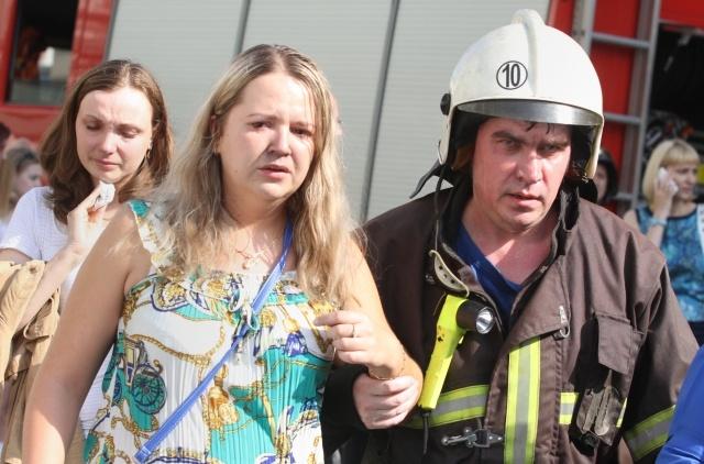 Пожар в метро Москвы 5 июня 2013 года: Фото