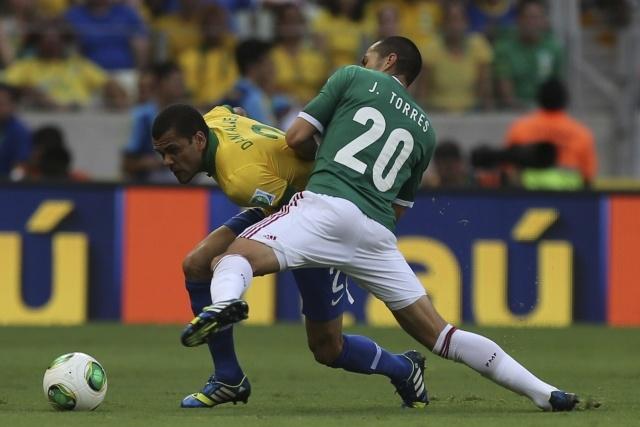 Матч Бразилия - Мексика на Кубке Конфедераций 2013 года: Фото