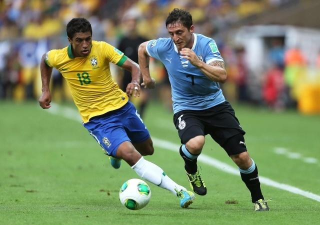 Бразилия - Уругвай на Кубке конфедераций 2013 года: Фото