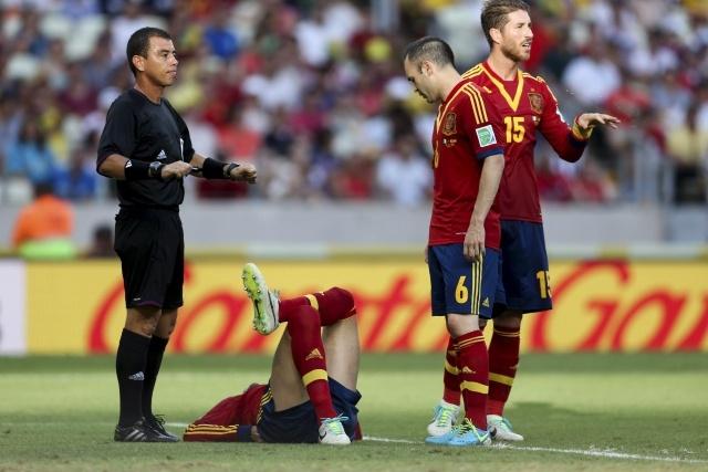 Испания - Нигерия на Кубке конфедераций 2013 года: Фото