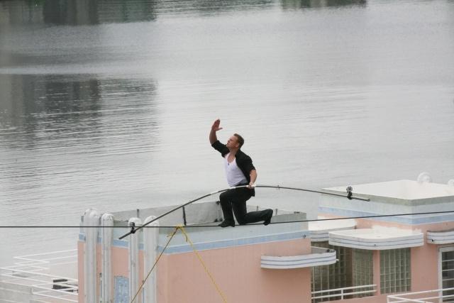 Канатоходец Ник Валленда: Фото