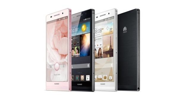 Самый тонкий смартфон в мире - фото Ascend P6 компании Huawei : Фото