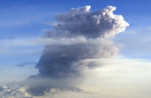 На Камчатке вулкан Шивелуч засыпал пеплом два поселка