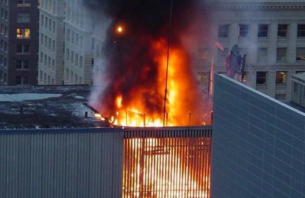 Два националиста задержаны за поджог общежития гастарбайтеров в Петербурге