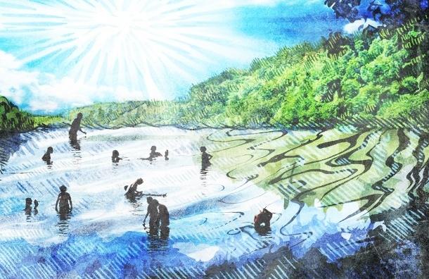 Народные пляжи: где купаются петербуржцы