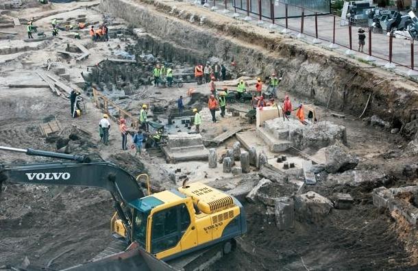 Охтинский мыс разрешили застроить, но с сохранением археологических находок