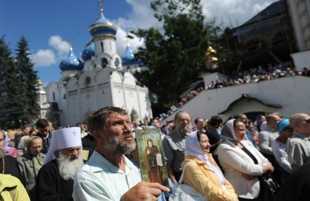 Впервые в XXI веке паломники пешком пройдут из Москвы в Троице-Сергиеву лавру