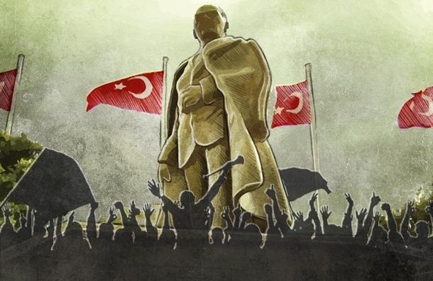 В Турции люди активнее протестуют, потому что у них горячей молодежи больше