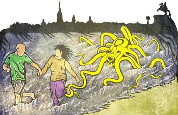 Петербужцы купаются в грязных озерах, рискуя своим здоровьем, потому что чистых нет