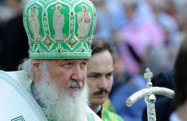 Патриарх Кирилл 12 июля приедет в Петербург