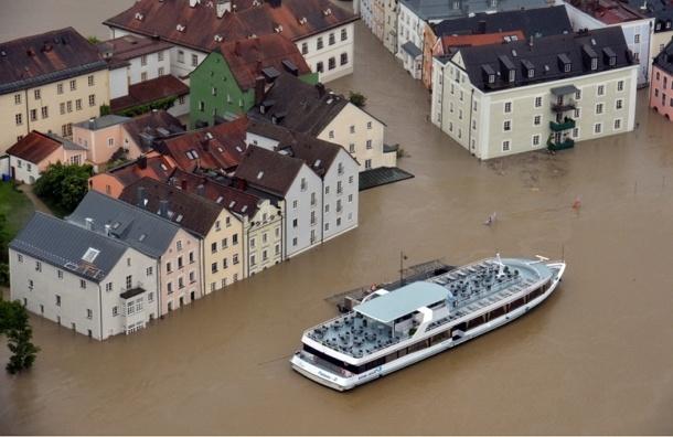 Наводнение в немецком городе Пассау признано крупнейшим за 500 лет