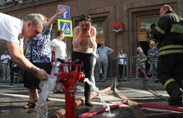 Пожар в метро ликвидирован. 45 пострадавших. Перекрыта Большая Дмитровка - МЧС