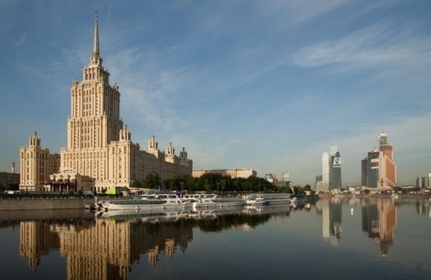 Москву-реку решили очищать при помощи новых технологий