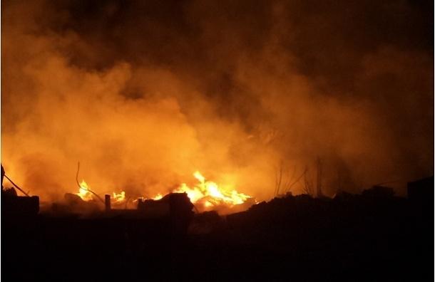 Пожар на птицефабрике в Китае полностью не ликвидирован