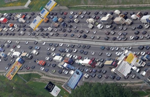247 табло с информацией о пробках разместят на дорогах Москвы